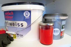 Farbe und Farbreste richtig lagern – gewusst wie!