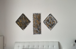 Rakeltechnik für Anfänger - Leichte Acrylmalerei
